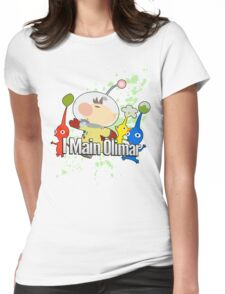 I Main Olimar - Super Smash Bros. Womens Fitted T-Shirt