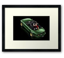 Reflection of Envy Framed Print
