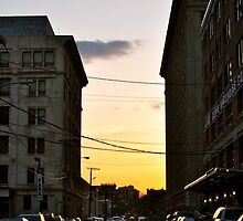 Bay St. Sunset by KNPhoto