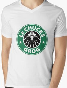 LeChuck's Grog Mens V-Neck T-Shirt