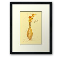 Honey Framed Print