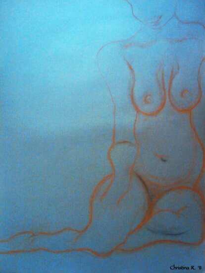 Voluptious Nude by Christina Rodriguez