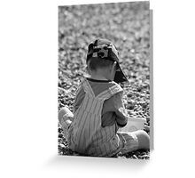 Beach Baby Greeting Card