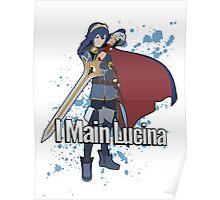 I Main Lucina - Super Smash Bros. Poster