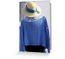 Brighton Blues Greeting Card