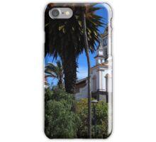 Matriz Church With Palm Tree iPhone Case/Skin