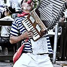 """clown and ACCORDION"" by grsphoto"