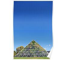 Living pyramid Poster
