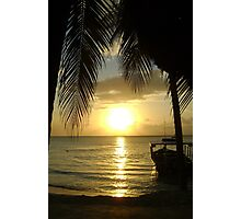 Jamaican Sunset, Negril 2 Photographic Print