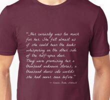 Curiosity (Inkheart) Unisex T-Shirt