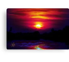 Beautiful Flow Canvas Print