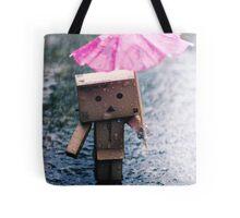 A Rainy Danbo Tote Bag