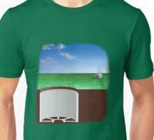 Ball on Green Unisex T-Shirt