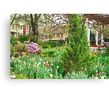 April Comes to 5th Street Canvas Print