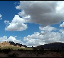 Shadows In The Valley - Mojave by Glenn McCarthy