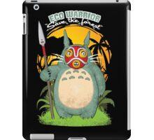Eco warrior iPad Case/Skin