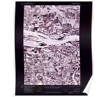 USGS Topo Map Washington Camas 240319 1975 24000 Inverted Poster