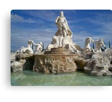 Fontana di Trevi Replica Canvas Print