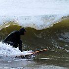 Winter Surfing in Maine by Jenny Webber