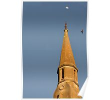 Sunrise St Paul's - Hill End NSW Australia Poster