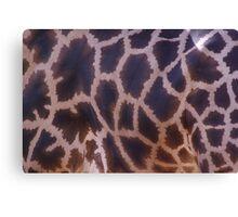 Animal Prints Look Best on Animals - Giraffe Canvas Print