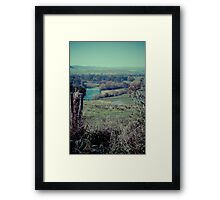 Tintaldra Valley Framed Print