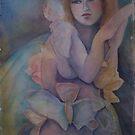 Butterfly angel eyes by Ellen Keagy