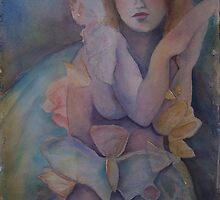 Butterfly angel eyes by Ellen Keagy