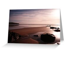 Godfrey's Beach Sunrise Greeting Card