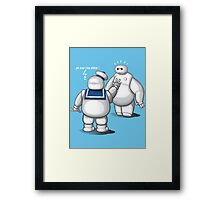 Father and son ? Framed Print