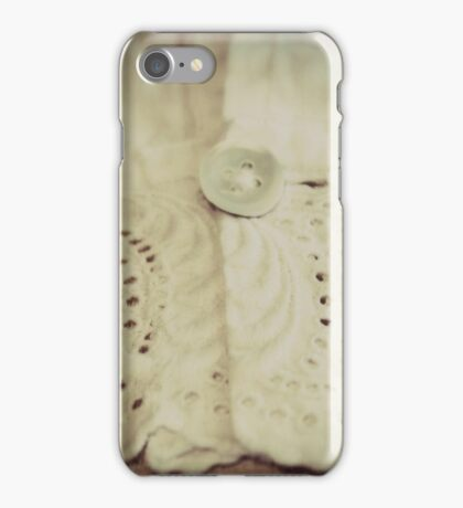 Lace - Embroidery - JUSTART © iPhone Case/Skin