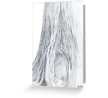 Lothlorien Mallorn Tree Greeting Card
