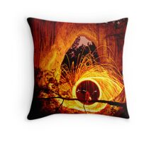 Golden Gorge, Hill End Throw Pillow