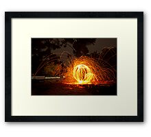 Welcome to Hill End  Framed Print