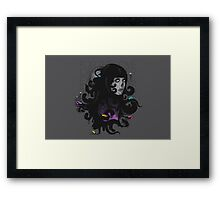 Ever Expanding Black Mass Framed Print