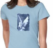 Angel - JUSTART © Womens Fitted T-Shirt