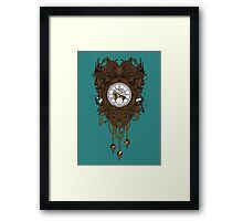 Your Time Machine Stranded Me Framed Print