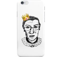 queen RBG iPhone Case/Skin