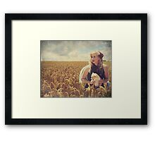 Hearts and Thoughts They Fade...Fade Away.... Framed Print