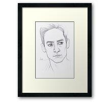 Abed Nadir Portrait Framed Print