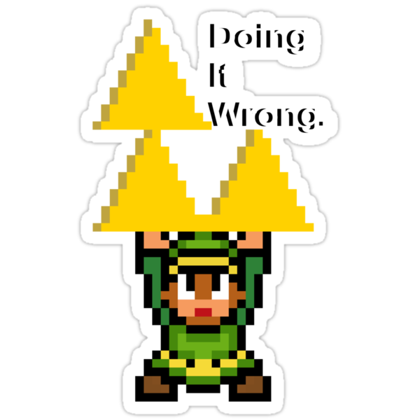 The Triforce - Doing It Wrong by iDontGiveaShirt