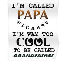 papa grandfather Poster