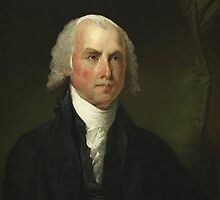 James Madison by Gilbert Stuart (1821) by allhistory