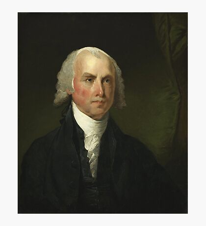 James Madison by Gilbert Stuart (1821) Photographic Print