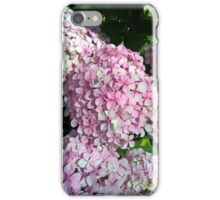 Pale pink flowers iPhone Case/Skin