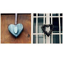 Collecting Hearts - JUSTART © Photographic Print