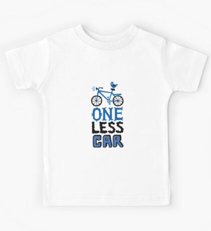 One Less Car Kids Clothes