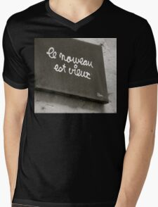 What's Old is New Mens V-Neck T-Shirt