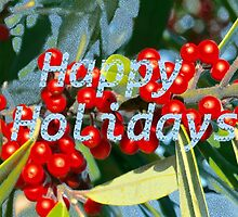 Holiday berries by ♥⊱ B. Randi Bailey