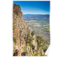 Autumn Afternoon on Ridge Track Poster